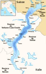 Lago Maggiore Mappa