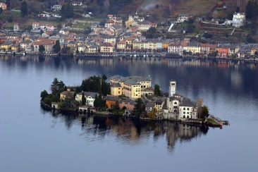l'Isola di San Giulio - Lago d'Orta