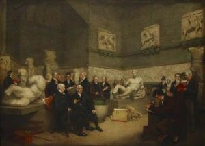 Lord Elgin Marbles at British Museum (1819)