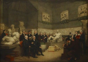 Lord Elgin Marbles at British Museum (1819)