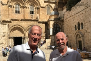 Outside Holy Sepulchre