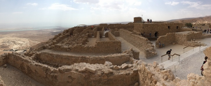 Pano of Masada Structures