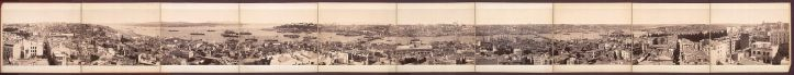 Panoramic view from Galata Tower - Late 19th Century