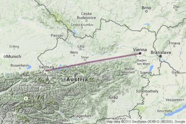 Salzburg to Vienna
