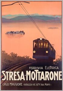 Stresa Mottarone Poster