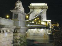 Széchenyi Chain Bridge - View Toward Buda
