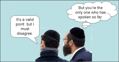 Two Jews, Three Opinions