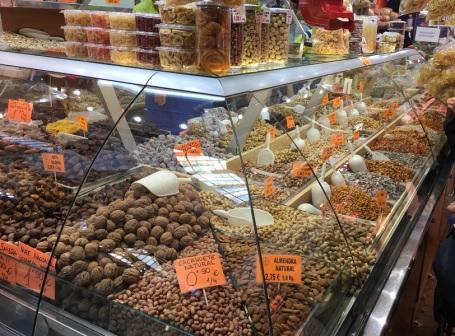 Valencia Central Market Nuts