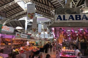 Valencia Central Market Roof