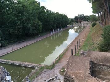 Villa Adriana Reflecting Pool