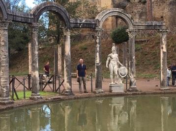 Villa Adriana Roman Hunks