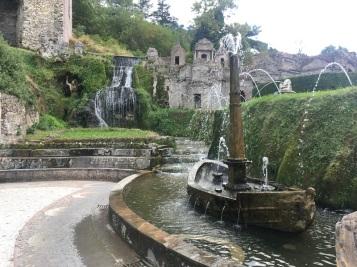Villa d_Este Boat Fountain