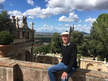 Villa d_Este View to Rome
