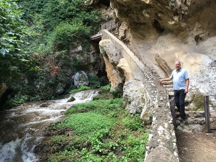 Villa Gregoriana Path