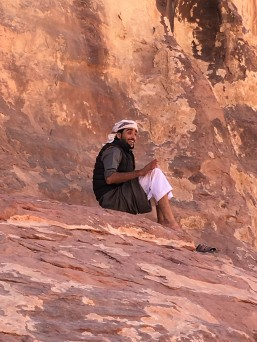 Mohammed on a break
