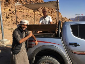 Wadi Rum - Mohammed & Truck with Brian