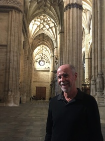 Frank in Salamanca Cathedral