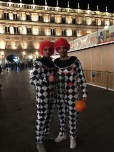 Halloween Clowns at Plaza Major