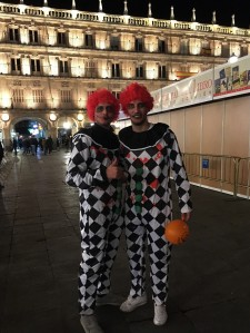 Halloween Clowns at Plaza Major