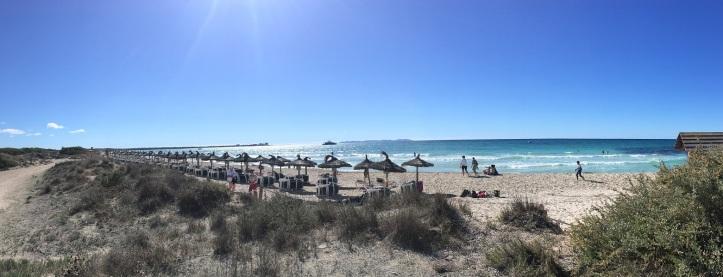 Mallorca Beach Umbrellas