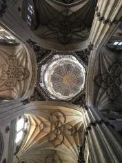 Salamanca Cathedral Interior Dome