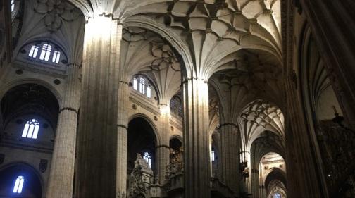 Salamanca Cathedral Interior Pano 3