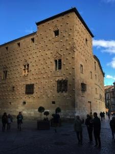 Salamanca Sea Shell Building