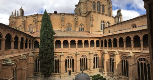 St Stephen Dominican Cloister Interior Pano
