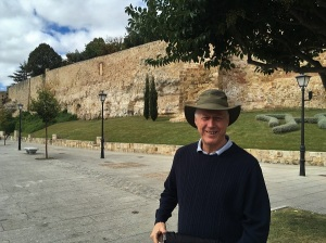 Brian at Salamanca Medieval Wall