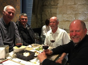 Four Amigos at Tapas Restaurant 2