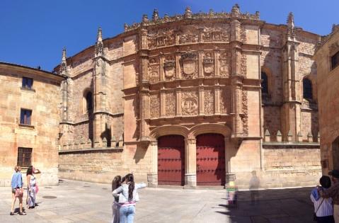 University of Salamanca Main Gate