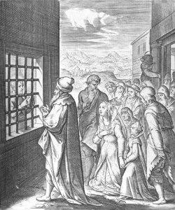 St Ignatius Imprisoned at Salamanca